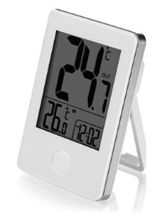 Perfectii mounted digital thermometer  walls
