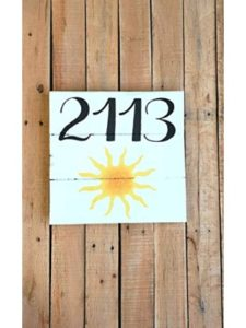 Evan332Eddie nautical  house number plaques