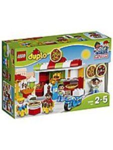 LEGO pizzeria  brick ovens