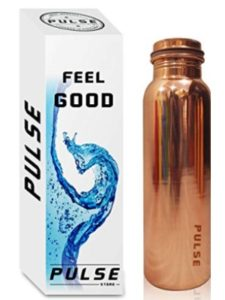 PULSE pure copper vacuum  water bottles