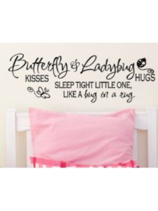 Wall Decals quote  bed bugs