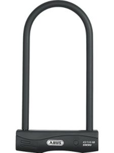 ABUS red  triangle street signs