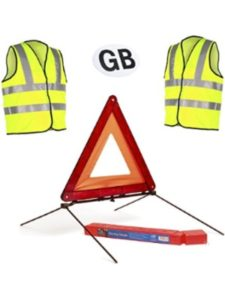 Home Smart red  triangle street signs