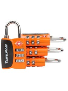 TravelMore reset  travel sentry locks