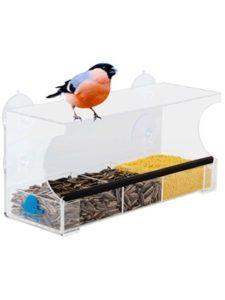 Happy Piepmatz rspb  window bird feeders