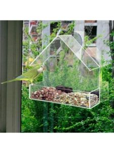 REDWOOD rspb  window bird feeders
