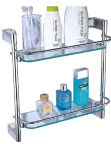 XZ Store shower niche  glass shelves
