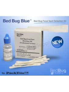 Packtite test kits  bed bugs