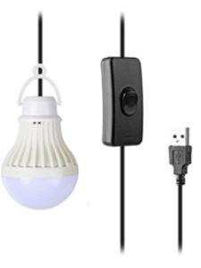 COOLEAD usb adapter  light bulbs