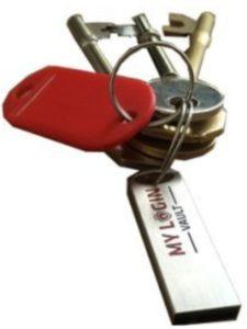 My Login Vault usb key  password managers
