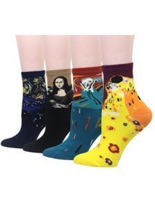 Cansok van gogh  socks
