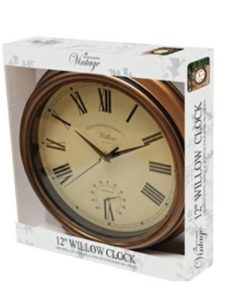Bonnington Plastics vintage  wall thermometers