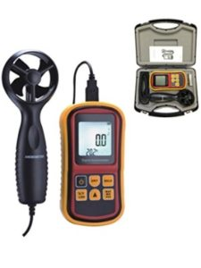Digital Micrometers Ltd wind  speed detectors