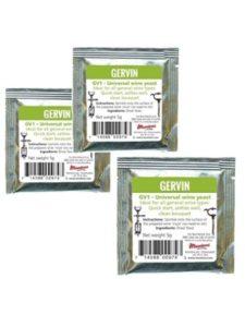 Gervin allergy  wine yeasts