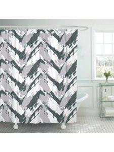 DeeCom bathroom tile  herringbone patterns