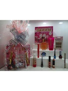 12pc Perfume & make Up Gift Hamper candy  glue sticks