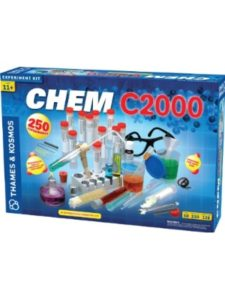 Thames & Kosmos chemical reaction  science experiments