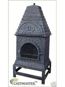 Castmaster chiminea  outdoor pizza ovens