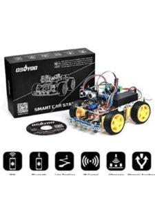 OSOYOO circuit design  ultrasonic sensors