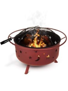 Fineway. clay  fire pit bowls