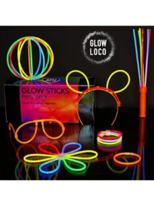 Glow Loco connector  glass shelves