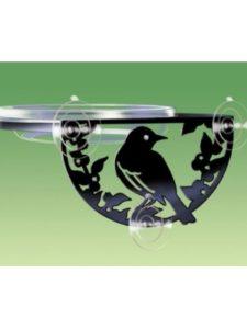 Droll Yankees window bird feeder