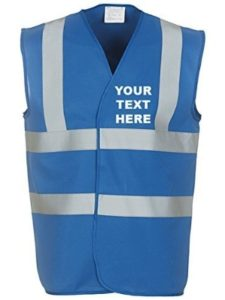 MYOG Personalised Prints electrician  safety vests