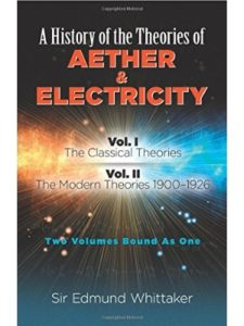 Sir Edmund Whittaker    electricity textbooks