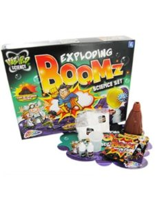 Toys exploding  science experiments