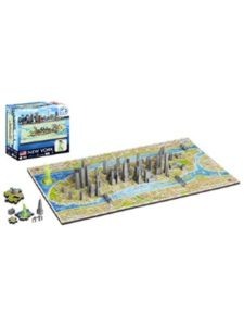 4D Cityscape Time Puzzle first bus  number 8S