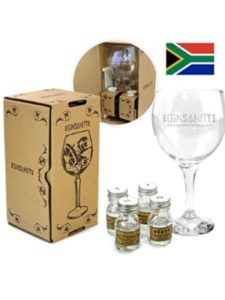 Ginsanity gin  south africas