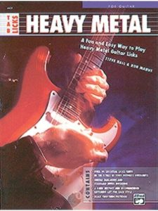 Alfred Music guitar lesson  heavy metals