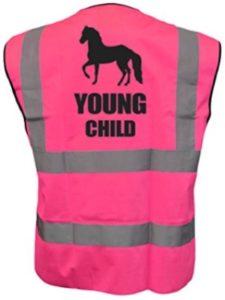 Brook Hi Vis UK hi viz  riding vests