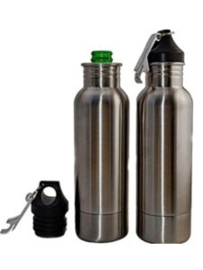 Yiwa koozie  stainless steel beer bottles