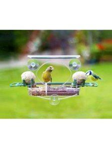 Meripac window bird feeder