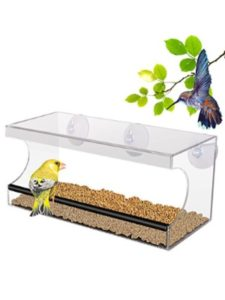 PD window bird feeder
