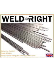 Weld Right number  welding rods
