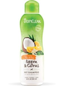 Tropiclean organic  flea treatments