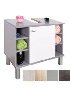 RICOO organizer  glass 3 shelf vanities