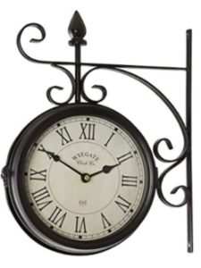 Clifford James outdoor clock  wall thermometers