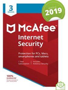 McAfee pc  virus securities