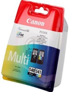 Canon pg 540 cl 541 multipack  canons