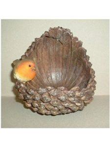 Vivid Arts    pine cone bird feeders