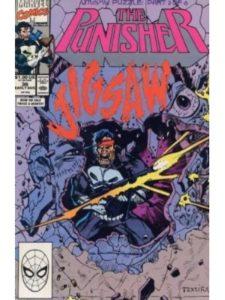 Marvel Comics punisher  jigsaws