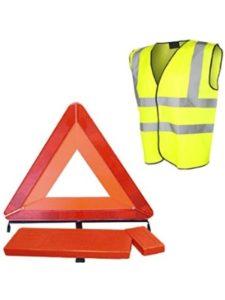 Roadster quick spot  reflective safety dog vests