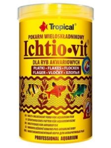 Tropical recall  fish foods
