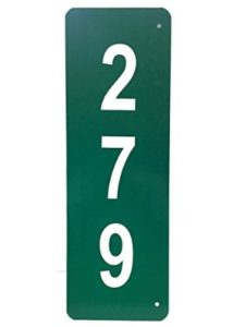 Granite City Graphics reflective  house number plaques