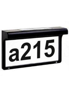 LeiDrail reflective  house number plaques
