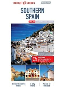 Insight Guides road map  southern spains