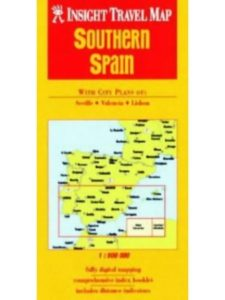 road map  southern spains